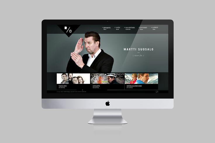Web design. Martti Suosalo