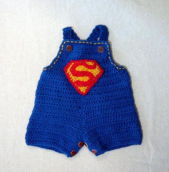 Little superman overall