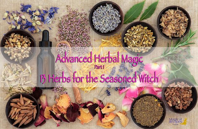 Advanced Herbal Magic: 13 Magical Herbs, Resins and Plants for the Seasoned Witch - Magical Recipes Online
