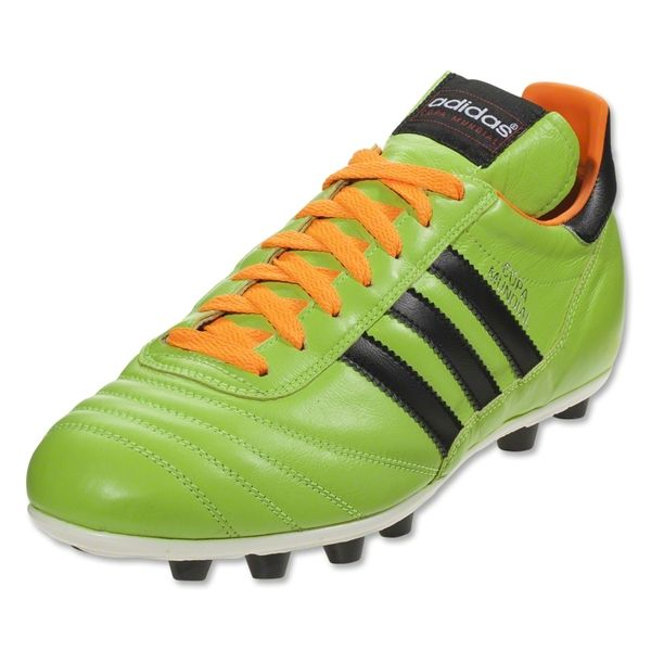 timeless design 93beb d3c3b tacos futbol adidas  adidas copa mundial fg naranja azul blanco made in  germany world cup