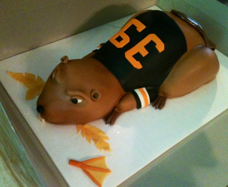 Benny Beaver Cake