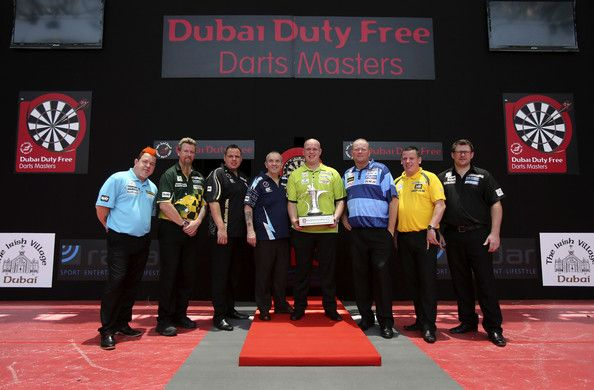 Raymond Van Barneveld and Peter Wright - Dubai Duty Free Darts Masters: Previews