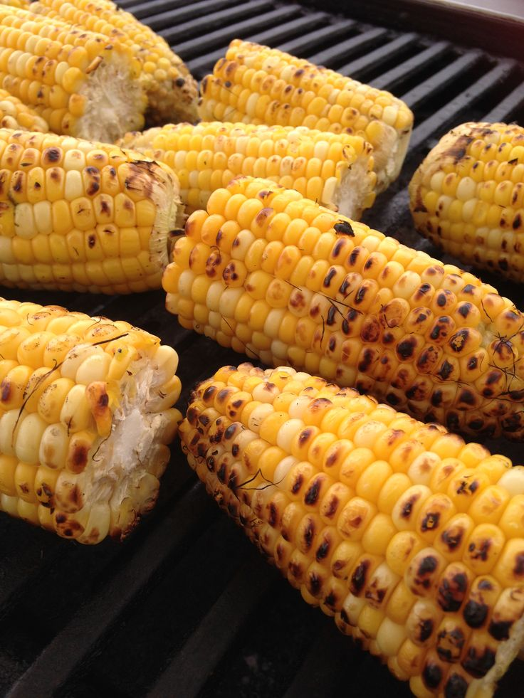 Grilled Corn with herb butter www.blueketchupbbq.com