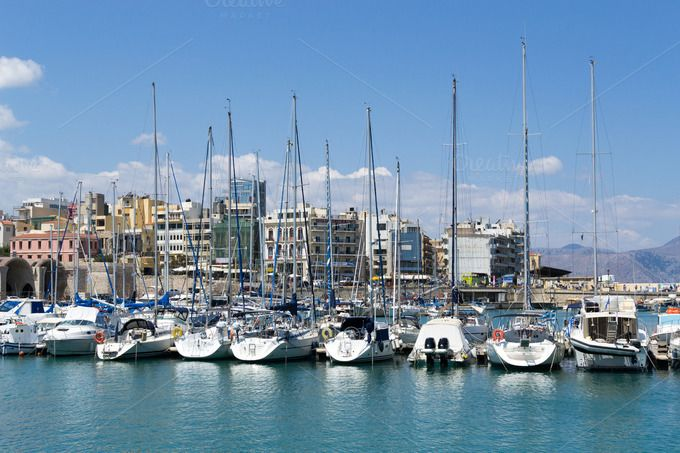 Crete Marina by Photo Infusion on @creativemarket