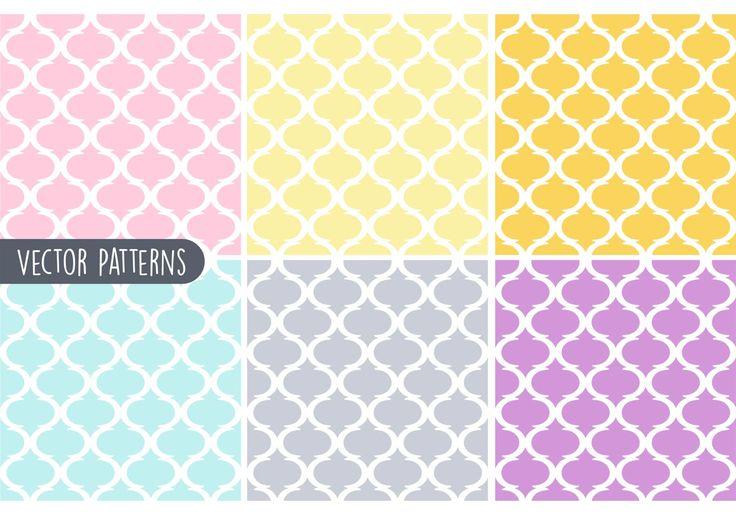 geometric patterns | Pastel Geometric Vector Pattern Set - Download Free Vector Art, Stock ...