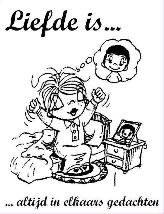 Liefde is ......