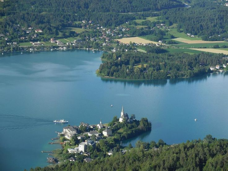 **Lake Worthersee (very popular summer lake, resorts) - Klagenfurt, Austria