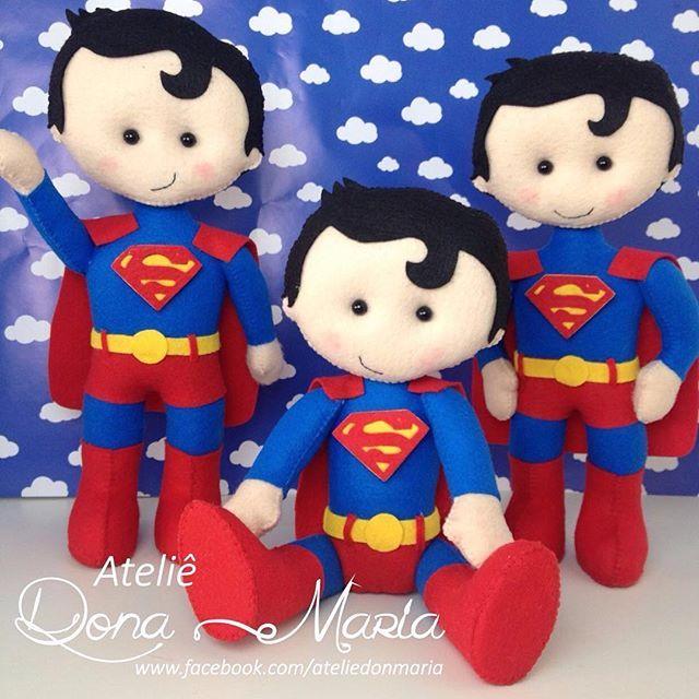 Superman  #feltro #superman #festainfantil