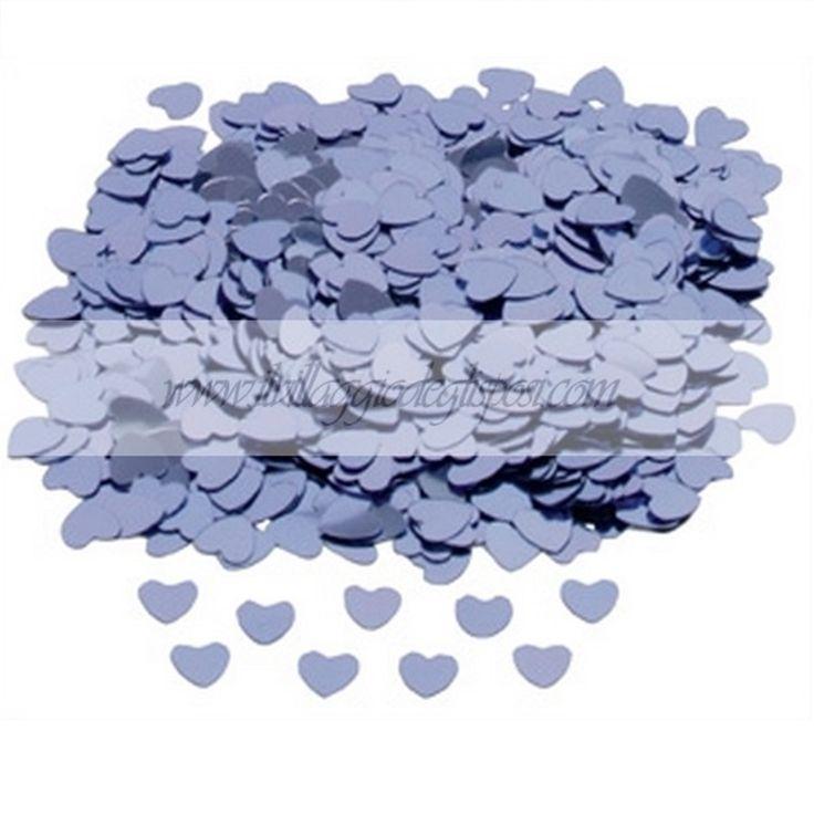 Coriandoli a forma di cuoricini / Heart confetti, available in different colour