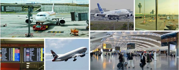 Airport Pick-Ups and Drop-Offs by Minibus & Coach Hire for Airport Transfer & Executive Travel