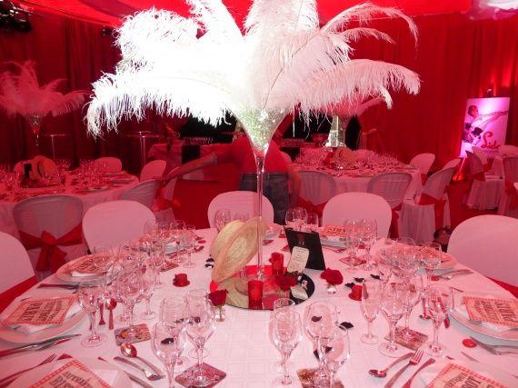 th 232 me original le cabaret deco table mariage r 233 ceptions d 233 corations de