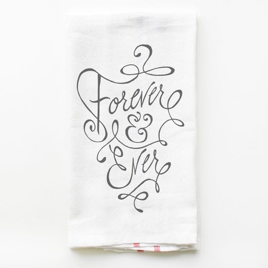 New! Forever and Ever Towel Set of 20