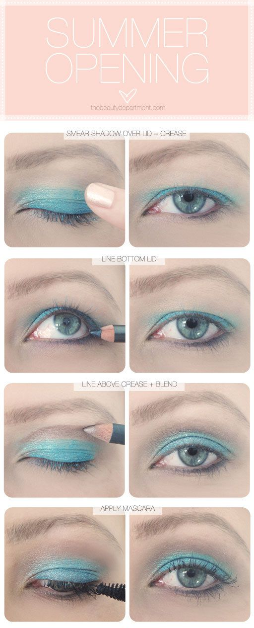 If you want to try something bright AF, be sure to bring the shadow up past the hood to maximize the color. | 13 Makeup Tips Every Person With Hooded Eyes Needs To Know