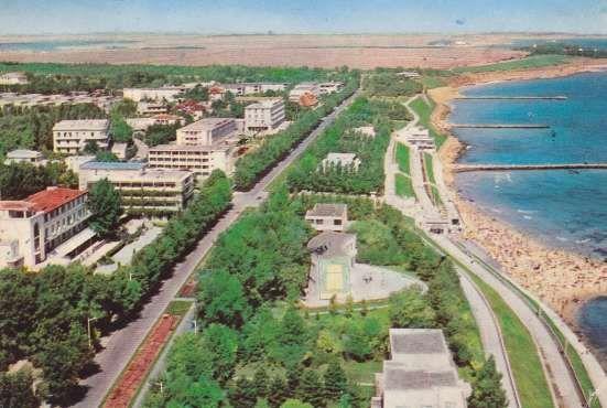 Eforie Nord - Vedere de sus a Bulevardului T. Vladimirescu