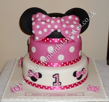 Minnie Mouse Birthday Cakes | Custom Bithday Cakes for Boys