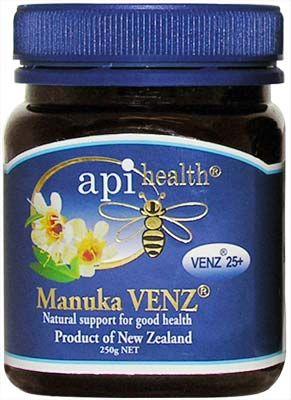 Manuka Honey with Bee Venom (Manuka VENZ) - API Health- 250g | Shop New Zealand