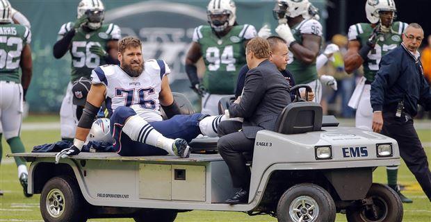 Report: Patriots tackle Sebastian Vollmer suffered ankle sprain