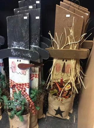 snowman and scarecrow | Christmas | Pinterest | Spring