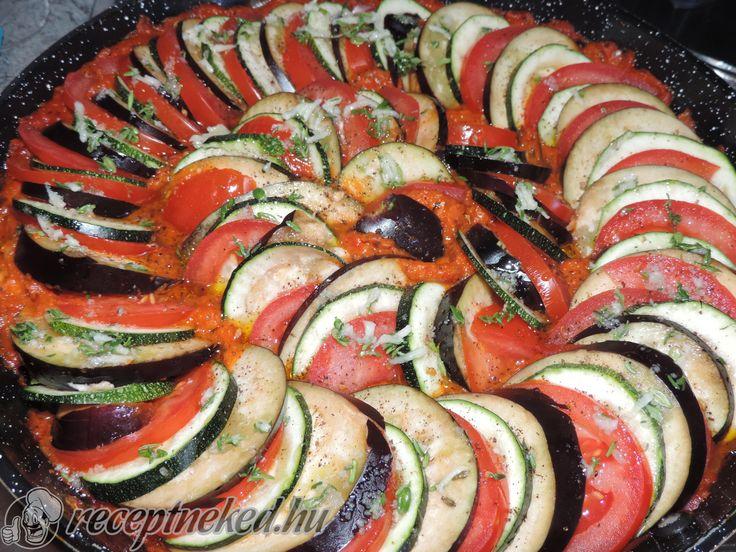 A legjobb Ratatouille recept fotóval egyenesen a Receptneked.hu gyűjteményéből. Küldte: Edit Szentkirályi