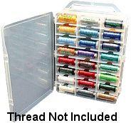 48 Madeira Thread Spool Plastic Storage Case (Empty)