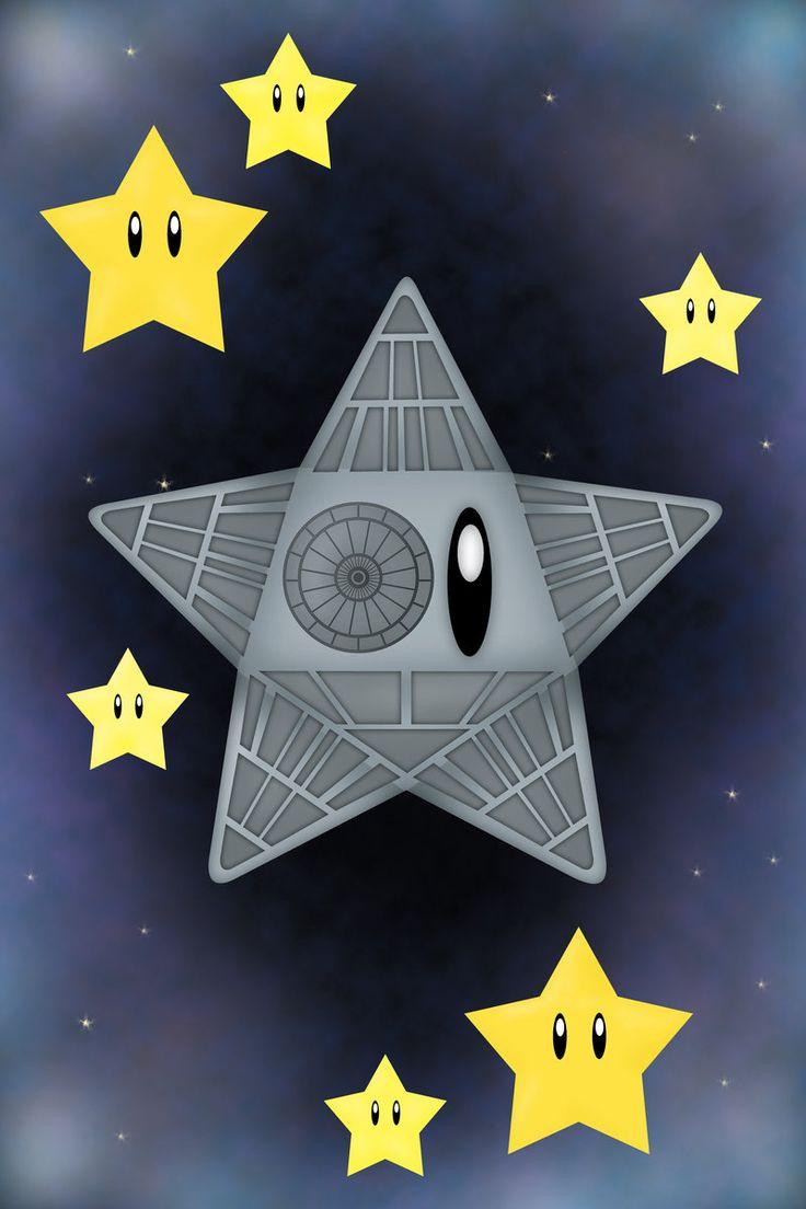 #Mario Death Star by *verreaux on deviantART