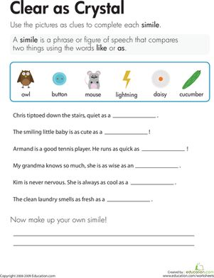 ... therapy activities therapy ideas worksheets similes writing worksheets