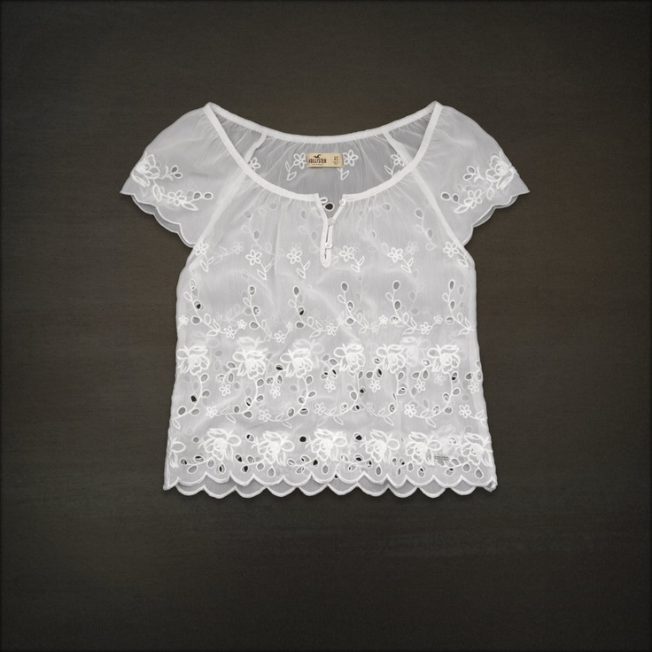 my top--go ahead...buy it!  Hollister Co. - Shop Official Site - Bettys - Tops - Fashion Tops - Short Sleeve - Arch Bay Top