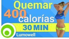 Rutina de ejercicios para quemar 400 calorías in 30 minutos sin pesas, Entrenamiento para adelgazar y tonificar todo el cuerpo en casa. ⦿ - Calorías Quemadas...