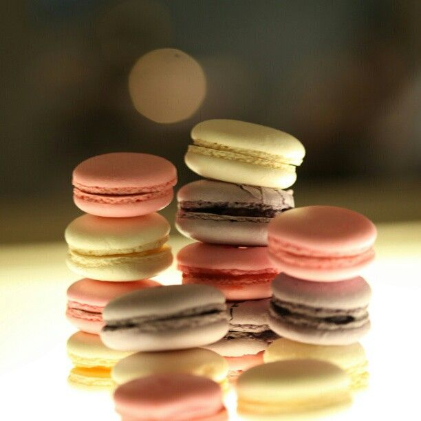 Yummy macaroons from t@lobby