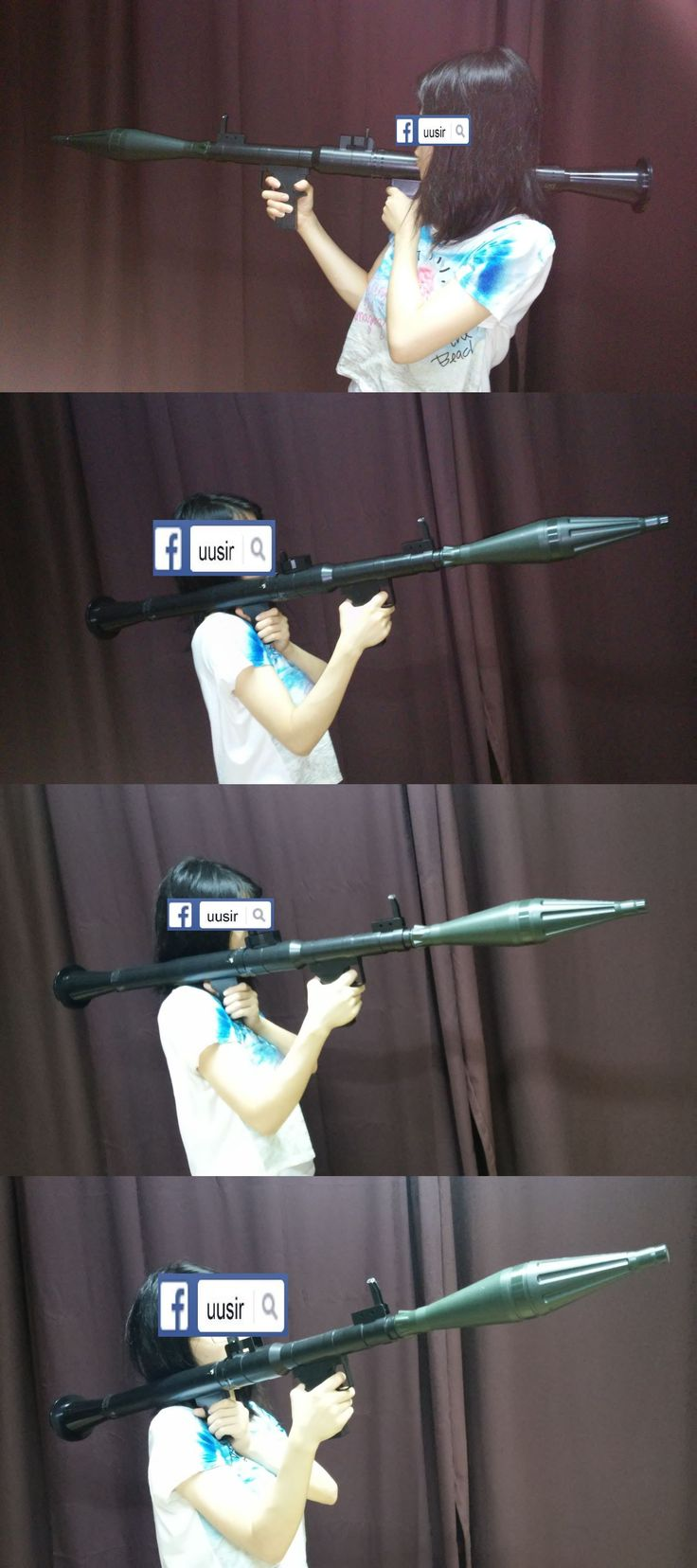Other Airsoft 31688: Rpg-7 Dummy Model Toy Drama Movie Prop Cosplay Hans Rpg 7 Halloween Costume -> BUY IT NOW ONLY: $96 on eBay!