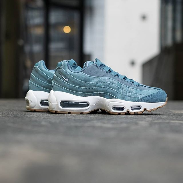 3f72b1a628283f ... Nike Air Max 95 Smokey Blue Sneakers Nike Air Max 95 Pinterest Air max  ...