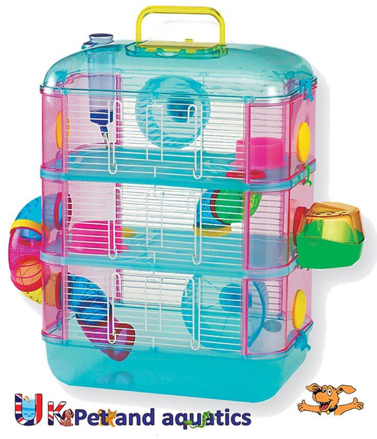 best 25 dwarf hamster cages ideas on pinterest hamster. Black Bedroom Furniture Sets. Home Design Ideas