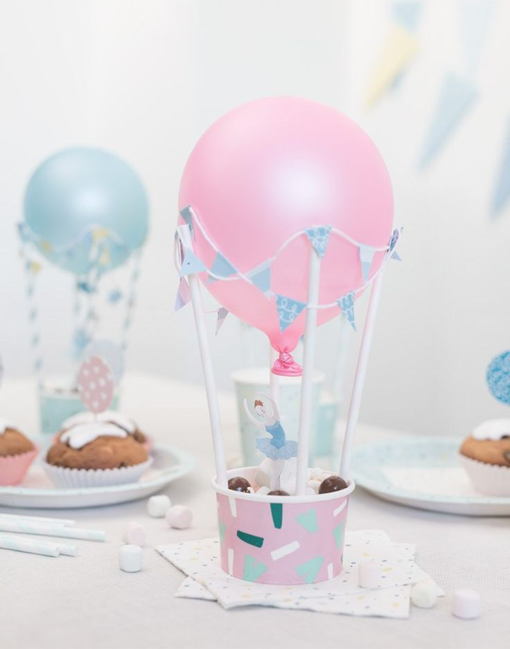 diy party withdia airballoons