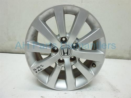 """Used 2004 Honda Civic Rear passenger WHEEL/RIM, 16"""" 10 spoke HAS MINOR CURB RASH AND SCRATCHES ON FACE 42700-S5S-E82 42700S5SE82. Purchase from https://ahparts.com/buy-used/2004-Honda-Civic-Rear-passenger-WHEEL-RIM-16-10-spoke-42700-S5S-E82-42700S5SE82/110441-1?utm_source=pinterest"""
