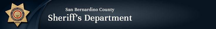 San Bernardino County Inmate Locater