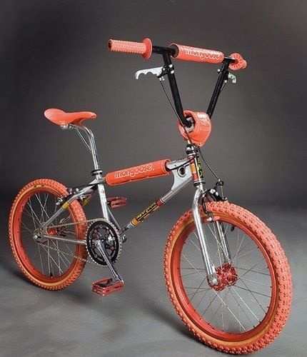 Classic old school mongoose bmx - I loved these bikes but they usually weighed a ton compared to the Redlines and Rippers.
