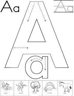 ALFABETOS LINDOS: Alfabeto atividade para pintura com guache! Com setas