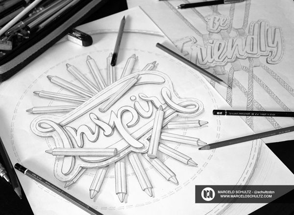 The Sketch Collection Vol02 by Marcelo Schultz, via Behance