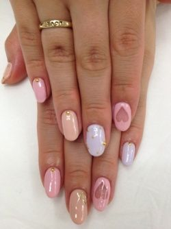 33 Pastel Nail Ideas For Spring pastelnails pastel nailart (Pastel Pink, Purple,