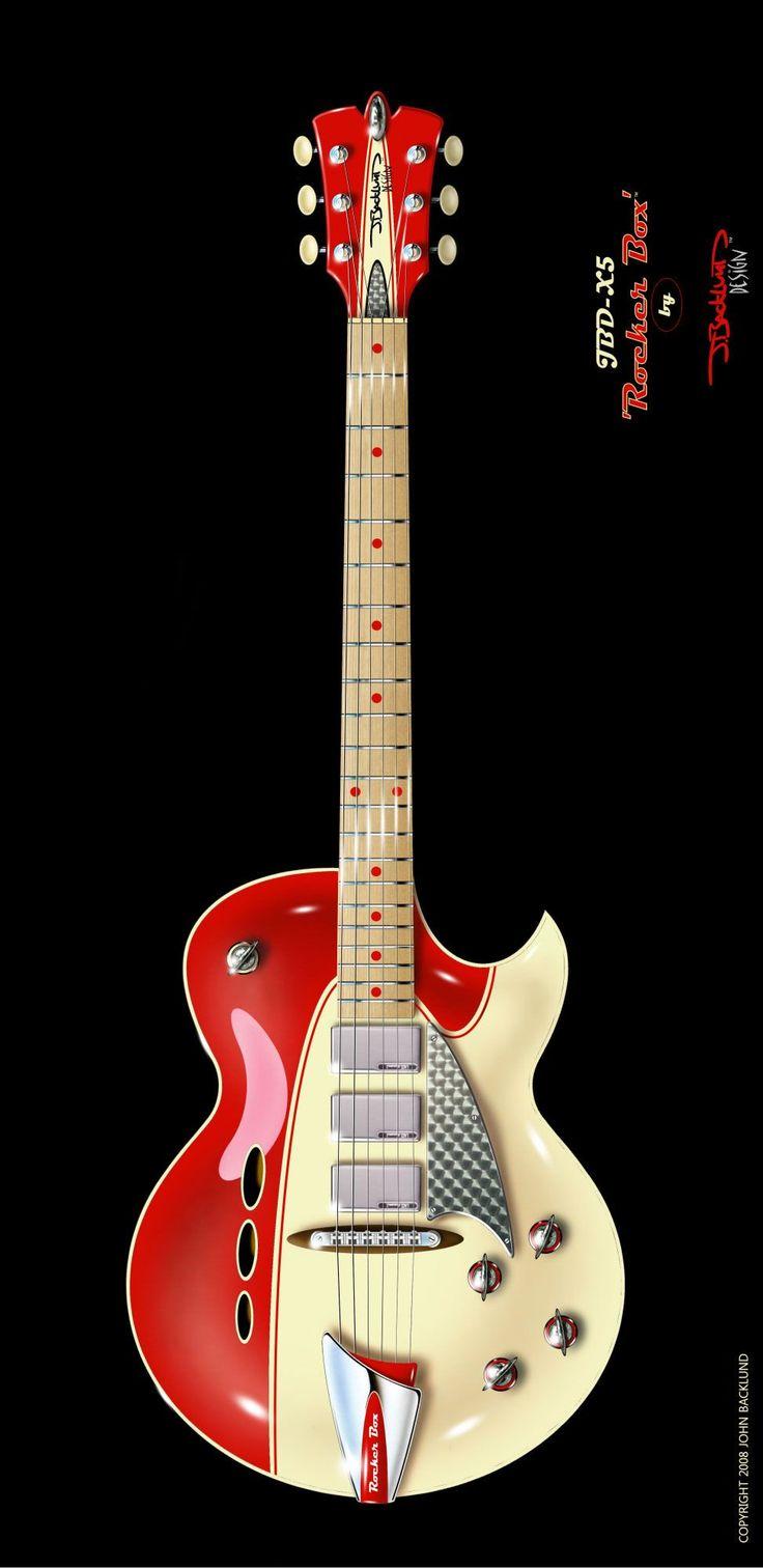 J.Backlund Design Guitar