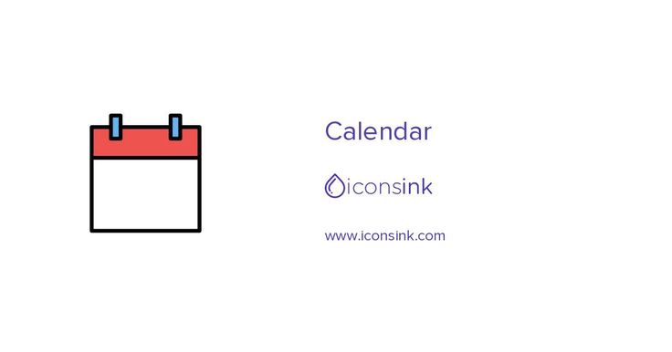 Download Calendar icon in PNG, SVG or EPS format. Icon designed by Iconsink