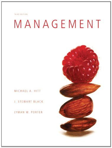 I'm selling Management (3rd Edition) by Michael A Hitt, Stewart Black and Lyman W Porter - $30.00 #onselz