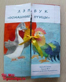 Лэпбук Домашние птицы