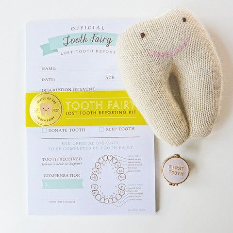Tooth Fairy Report Kit