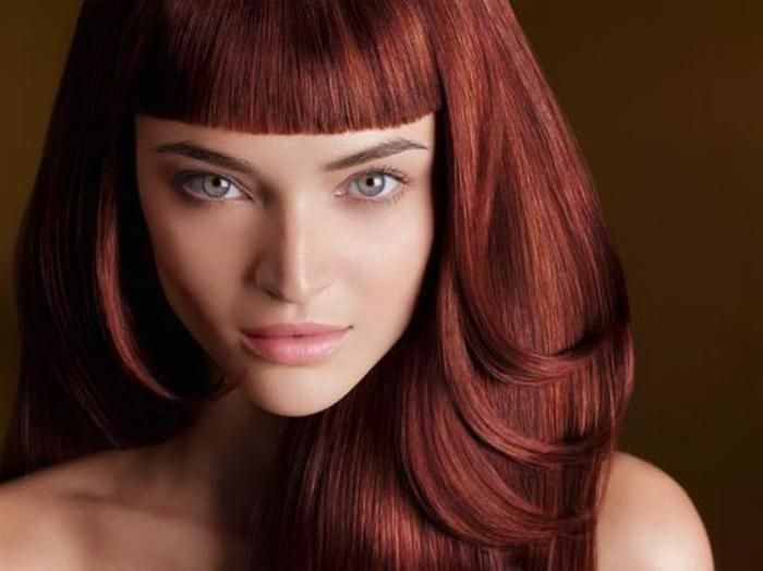 teinture acajou coiffure cheveux couleur acajou - Coloration Cheveux Acajou