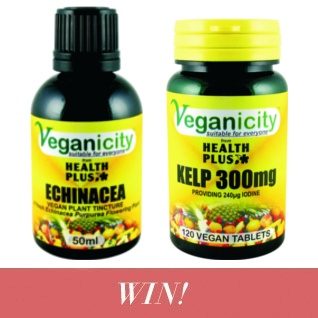Win vegan nutritional supplements from Veganicity!