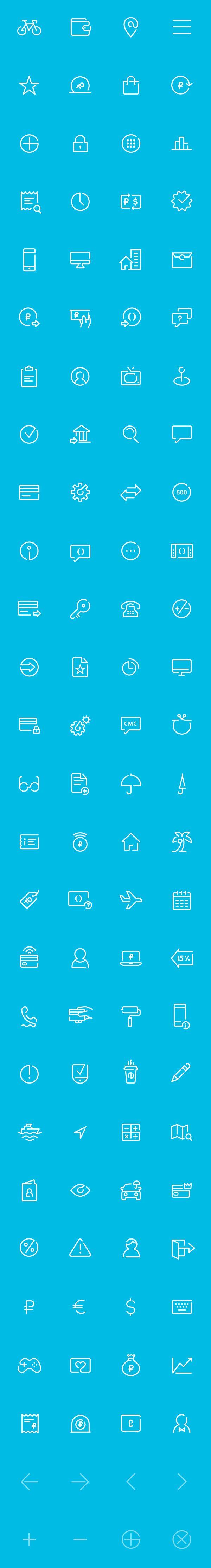 Otkritie Bank Iconography on Behance