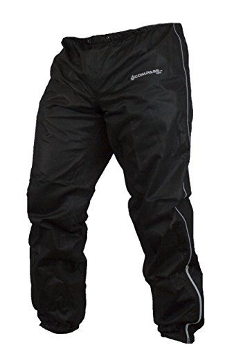 Compass 360 Roadtek Reflective Riding Rain Pants, Large, Black. For product info go to:  https://www.caraccessoriesonlinemarket.com/compass-360-roadtek-reflective-riding-rain-pants-large-black/