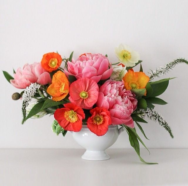 how to clean fabric flower arrangements
