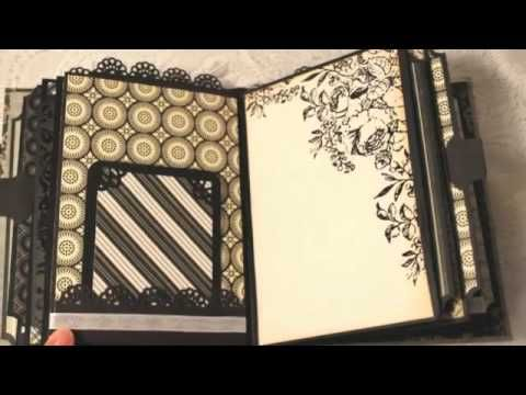 Wedding Anniversary custom mini scrapbook album